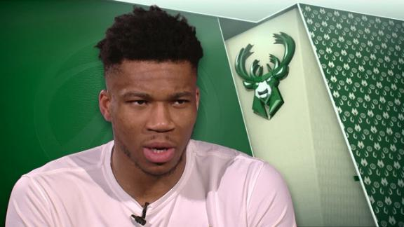 Giannis responds to Harden's comments