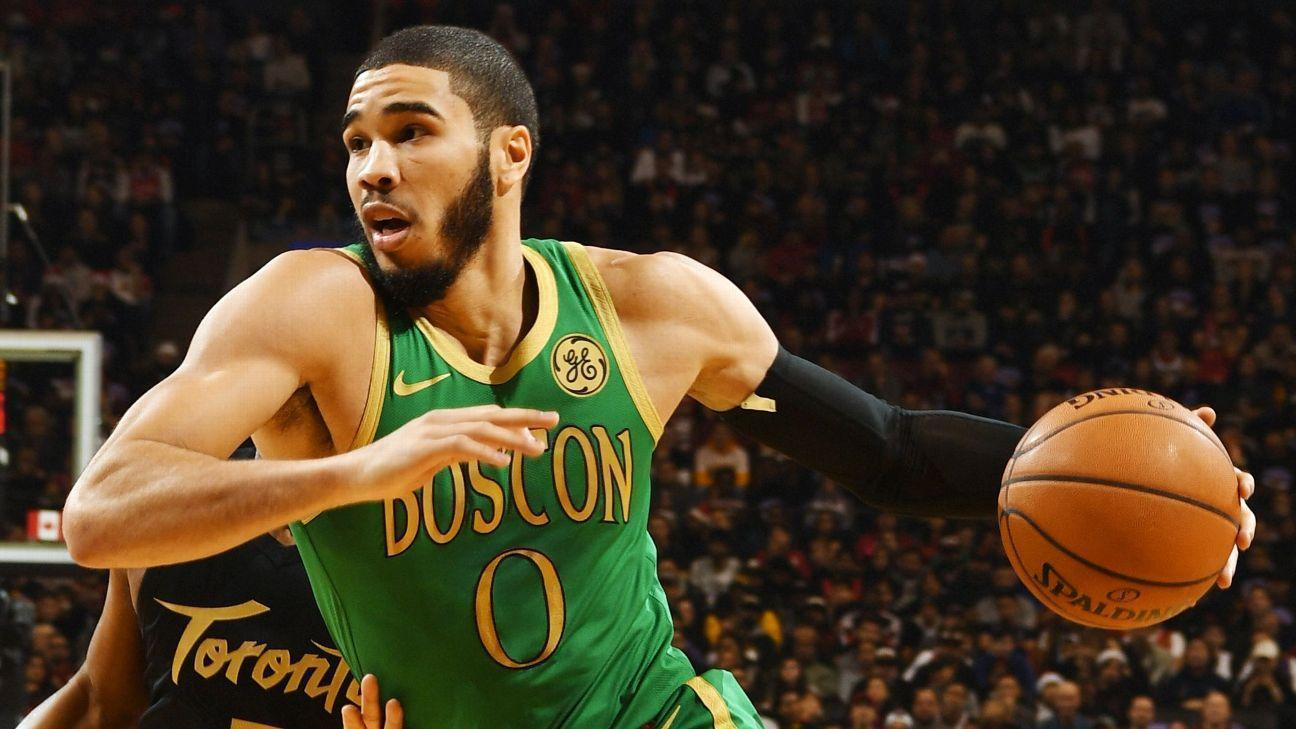 Jayson Tatum's sensational mixtape: How the Celtics star has emerged