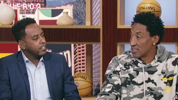 Pippen reveals the truth behind the dunk contest controversy