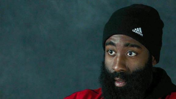 James Harden shares thoughts on Giannis' game in exclusive interview