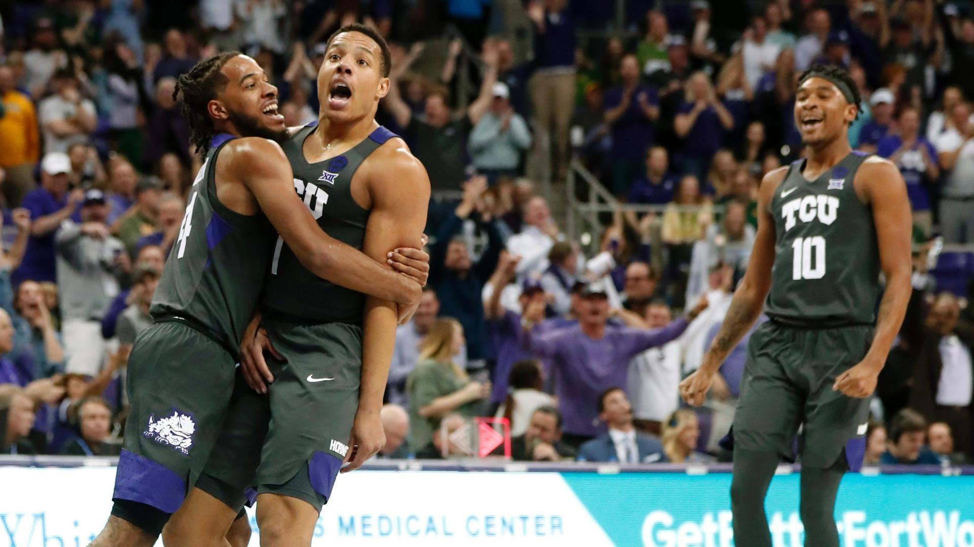 Bane leads TCU to upset of No. 2 Baylor