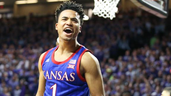 Dotson tallies 25 as Kansas tops rival Kansas State
