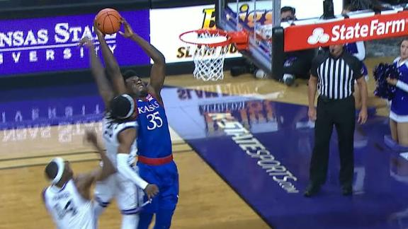 Azubuike throws it down over two Kansas State defenders