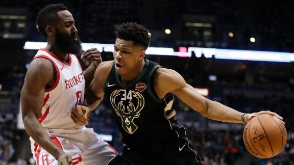 The history of Harden vs. Giannis