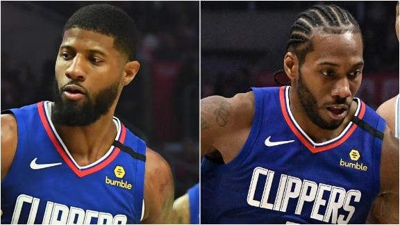 Kawhi, PG lead the Clippers over tenacious 76ers