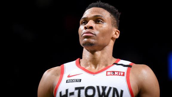 Westbrook's 41 leads Rockets to wild OT win over Celtics
