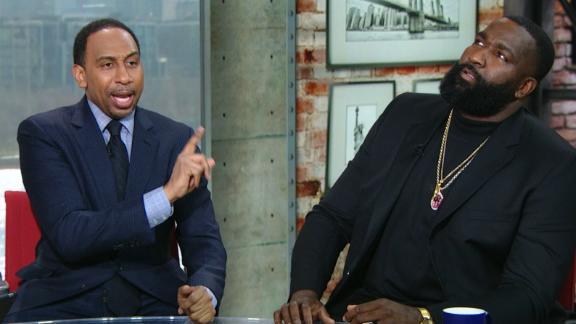 Stephen A., Perkins argue over LeBron's MVP status