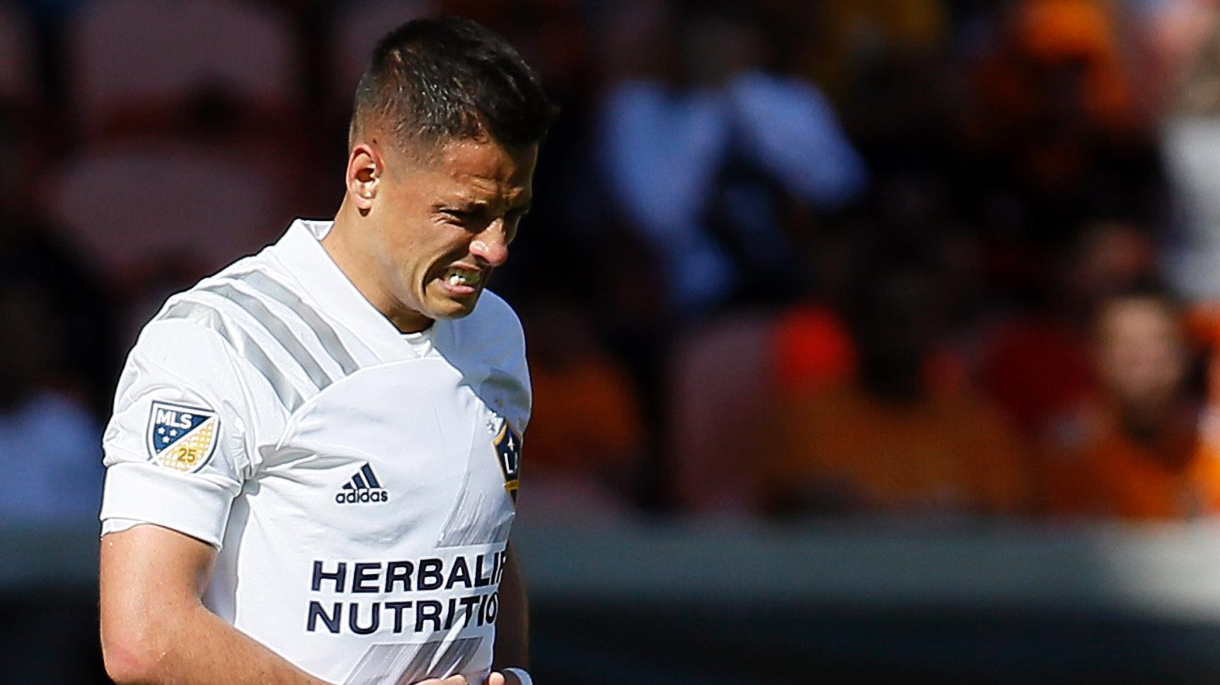 Chicharito 'starving for service' in Galaxy opener