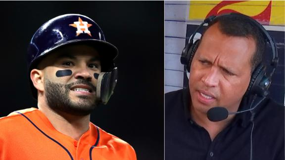 A-Rod: Fans are upset by Astros' lack of remorse