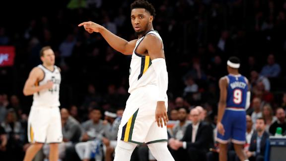Mitchell, Bogdanovic ball out at MSG
