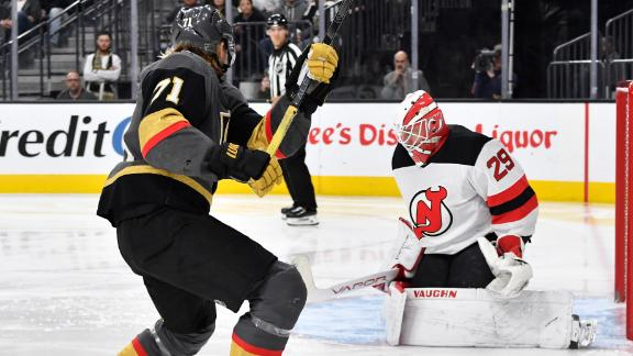 Golden Knights shut out Devils 3-0