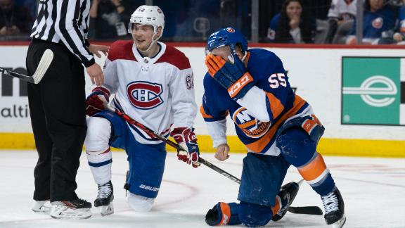 Boychuk needs 90 stitches after taking a skate to the face