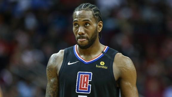 Kawhi scores 25 points as Clippers crush Rockets