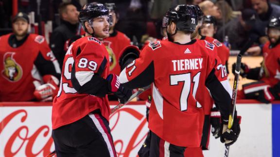 Senators comeback to beat Islanders