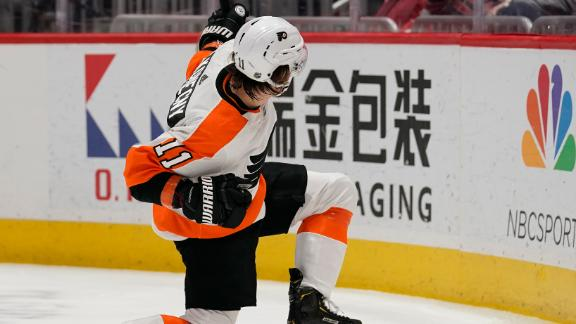 Goals from Konecny, Hayes kick-start Flyers' victory