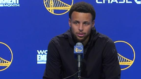 Steph confident Warriors' energy can continue