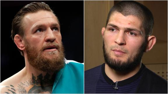 Khabib focused on Ferguson, not talk of McGregor or Mayweather