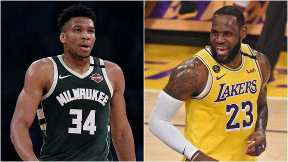How LeBron was able to best the Greek Freak