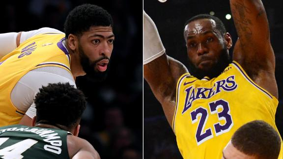 LeBron, AD fuel Lakers' 18-0 run in the 3rd