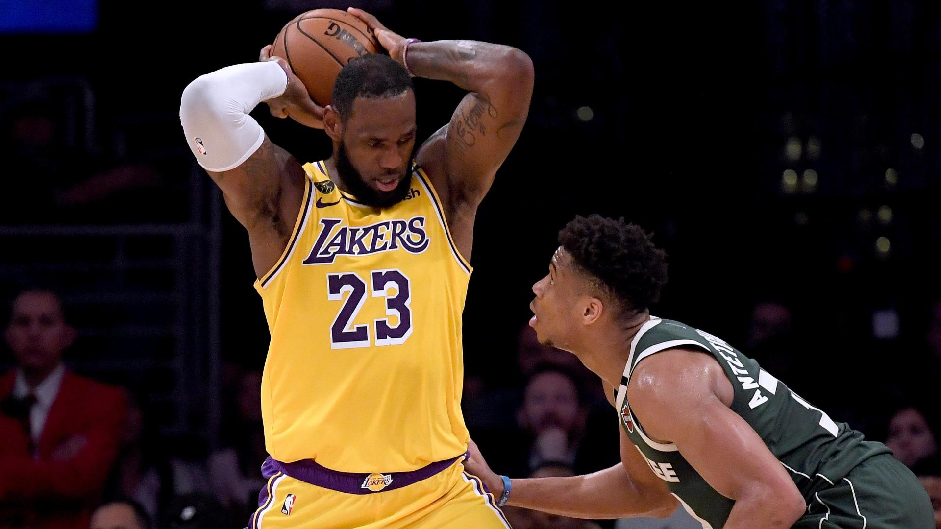 LeBron gets the better of Giannis in battle of MVP candidates