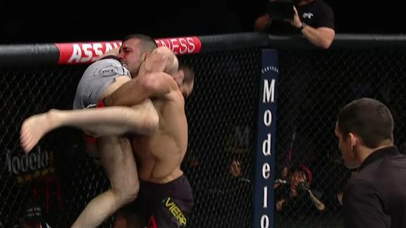 Vieira slams Safarov with ease