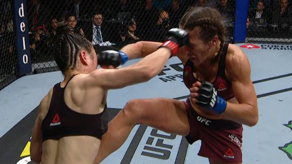 Weili, Joanna scrap in fight for the ages