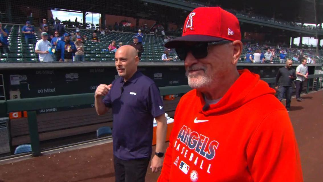 Maddon reminisces about time with the Cubs