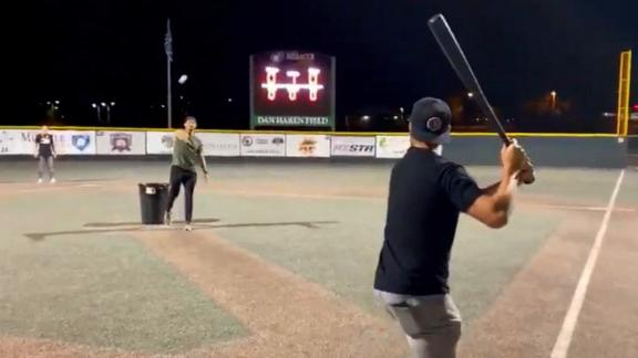 Bauer hosts charity whiffle ball game