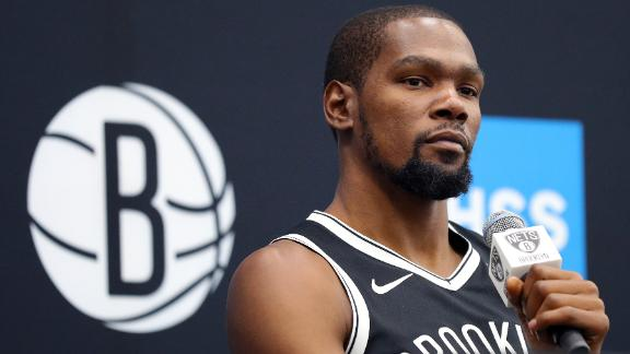 KD's agent not seeing summer return for Durant