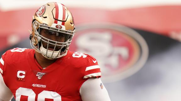 Colts acquire DT Buckner from 49ers for 1st-rounder