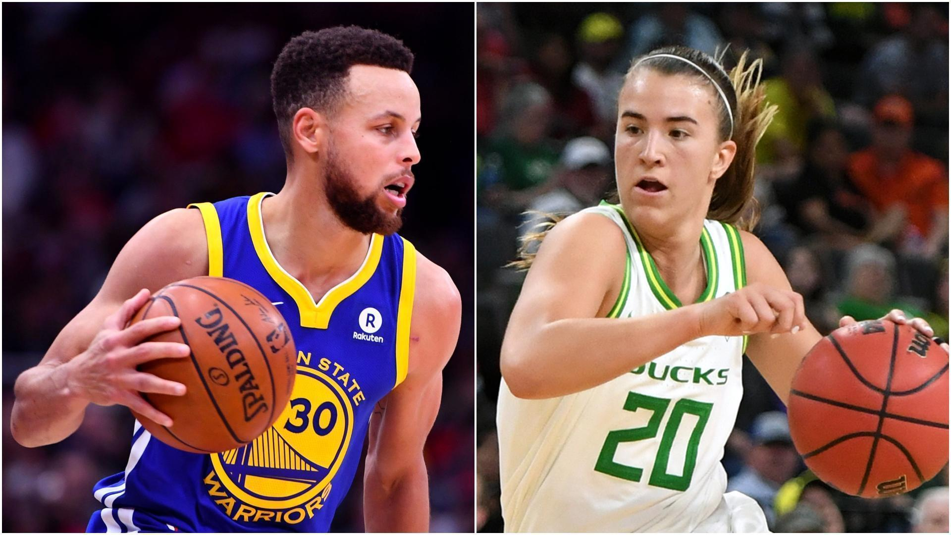 Comparing Steph's and Sabrina's greatness