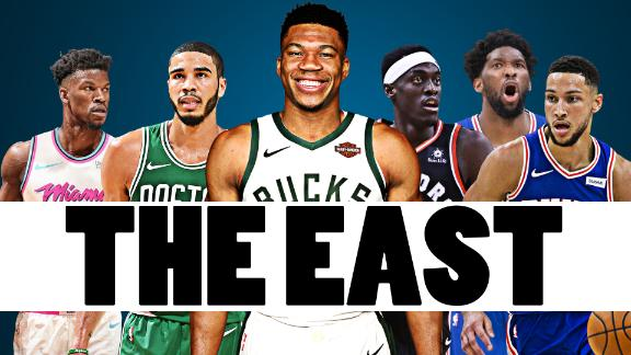 Where the East contenders stand at the hiatus