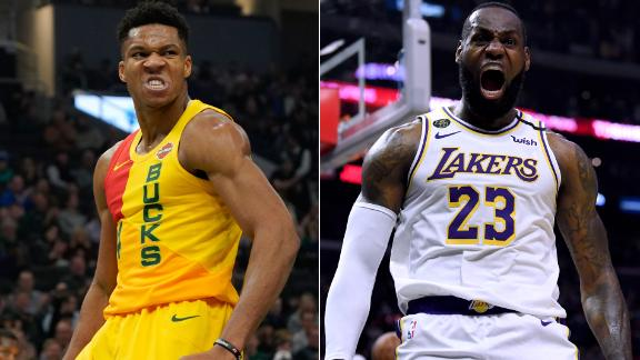 Is Giannis or LeBron leading the MVP race?