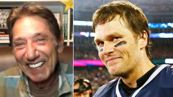 Namath provides advice for Brady as he moves on to Bucs