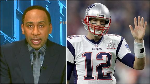 Who Stephen A. wants to see replace Brady in New England