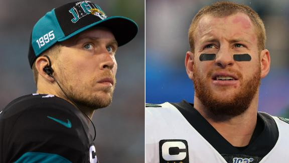 Foles or Wentz: Stephen A. picks who is more likely to win this season