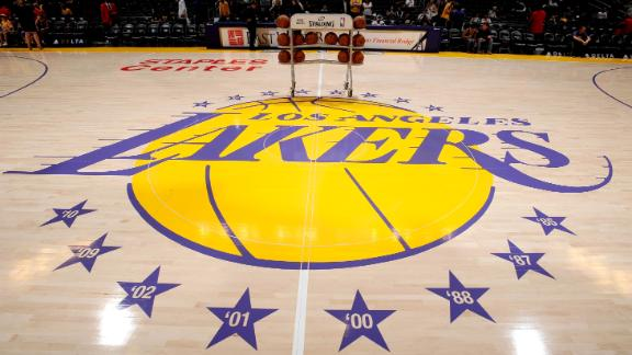 Two Lakers test positive for coronavirus