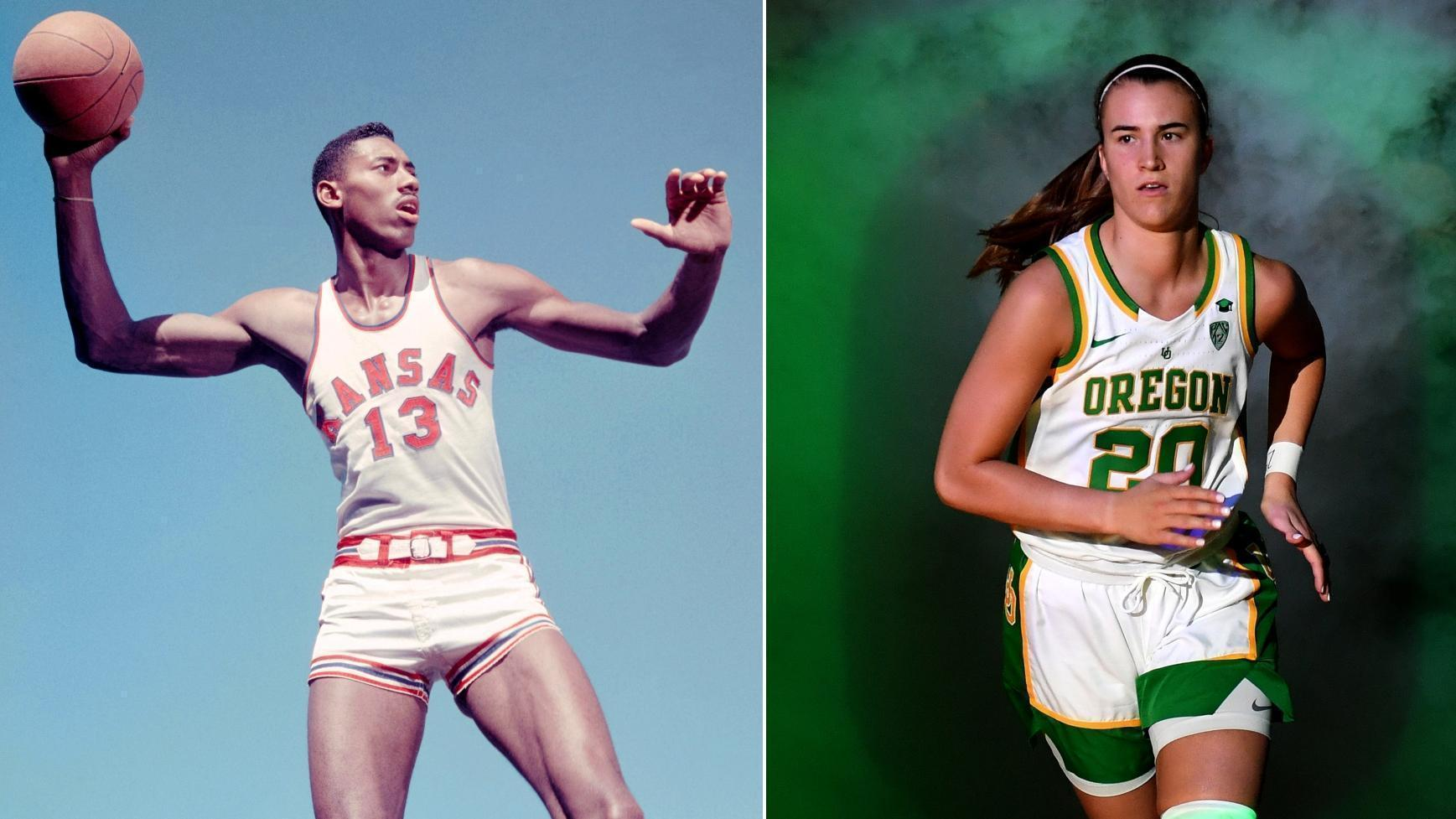 Chamberlain or Ionescu? Who had the better college career?