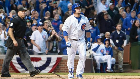 Schwarber hits mammoth home run in 2015 NLDS
