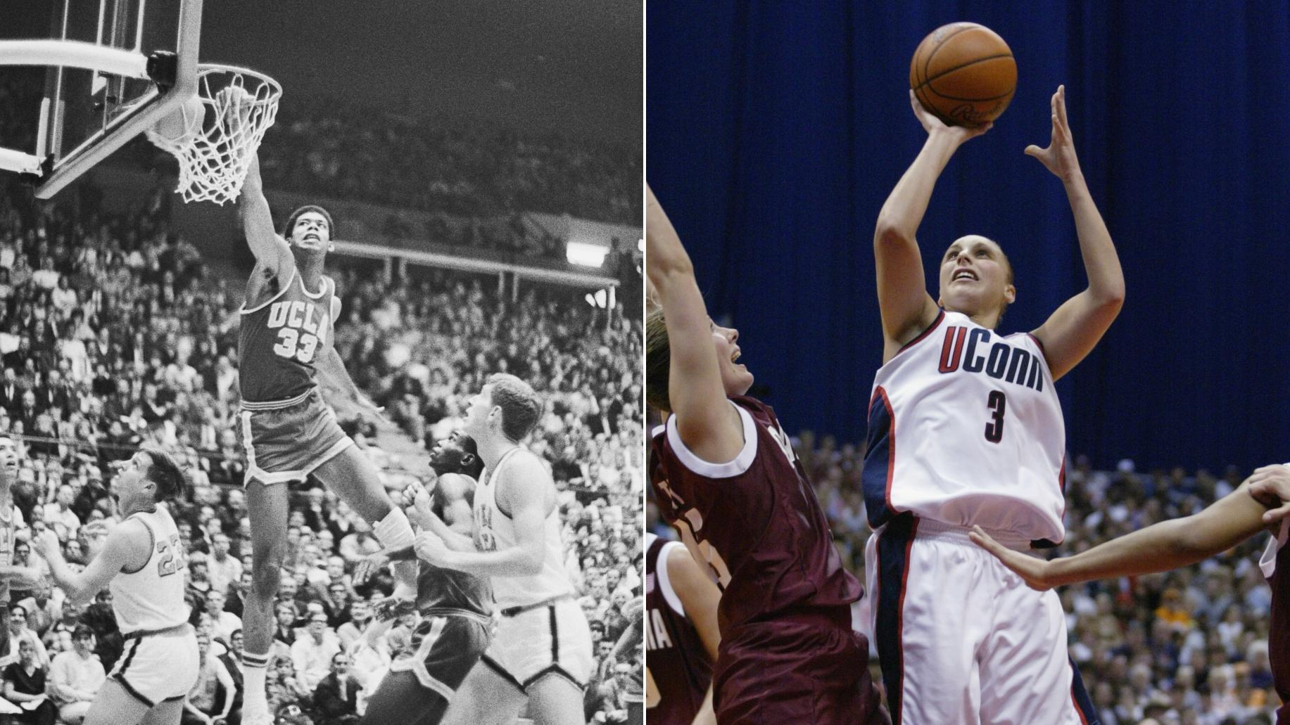 Lew Alcindor or Diana Taurasi? Who's the better college player?