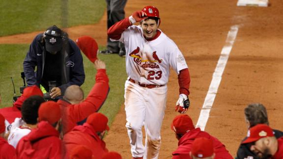Freese the hero of Game 6 of the 2011 WS