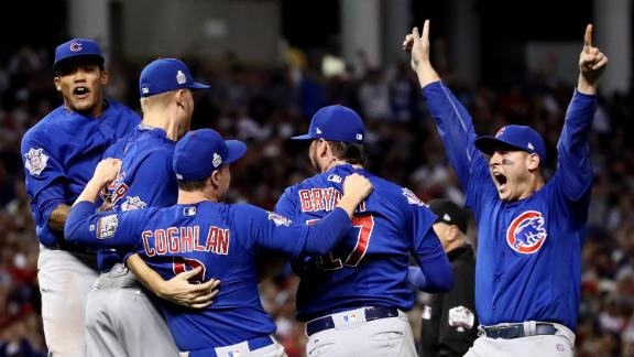 Cubs break 108-year drought and win 2016 World Series