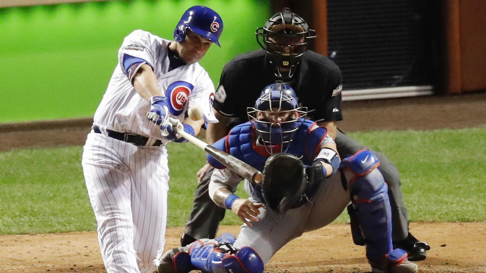 Miguel Montero's grand slam blows the game open in 2016 NLCS