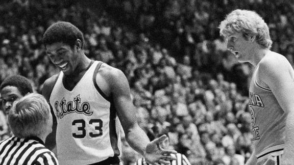 On this date: Magic, Bird duel for 1979 NCAA title