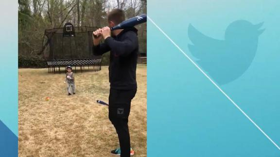 Freeman hilariously shows no mercy to his son