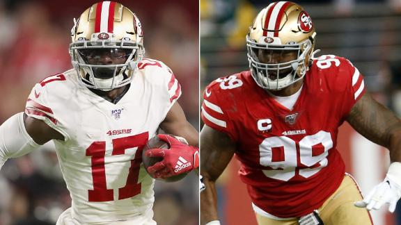 Sanders and Buckner are out; how will the 49ers look to fill those spots?