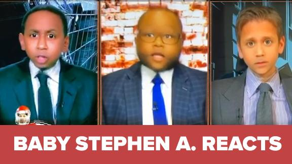Baby Stephen A. emphatically denies Mahomes is the MVP of sports