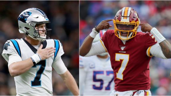 Redskins' trade for Allen is all about Haskins