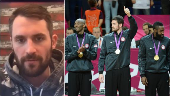 Kevin Love: It's smart to postpone the Olympics