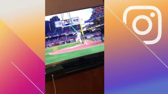 Tatis hits dingers as himself on MLB The Show 20